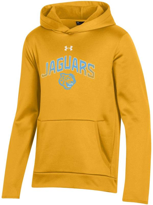 Under Armour Youth Southern University Jaguars Gold Pullover Hoodie product image