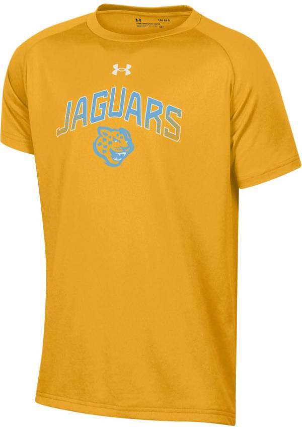 Under Armour Youth Southern University Jaguars Gold Tech Performance T-Shirt product image
