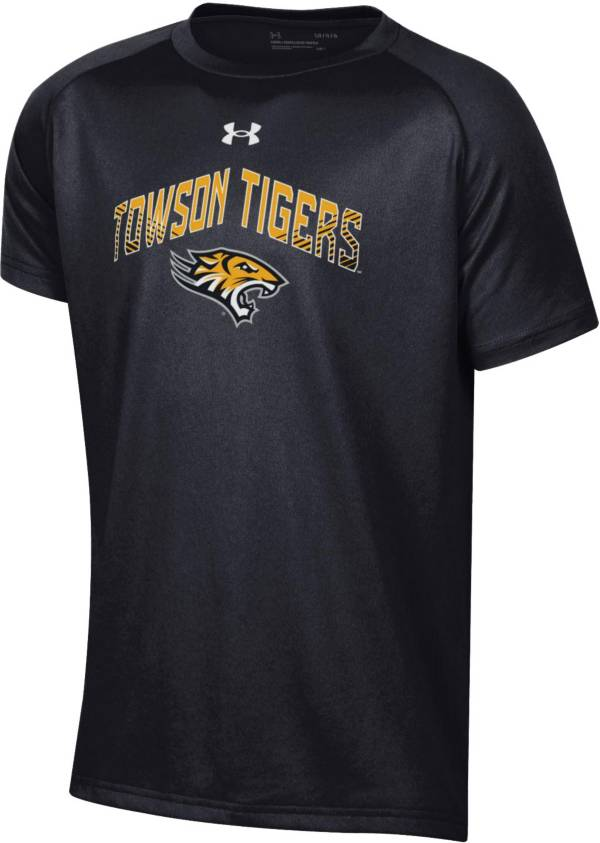 Under Armour Youth Towson Tigers Tech Performance Black T-Shirt product image