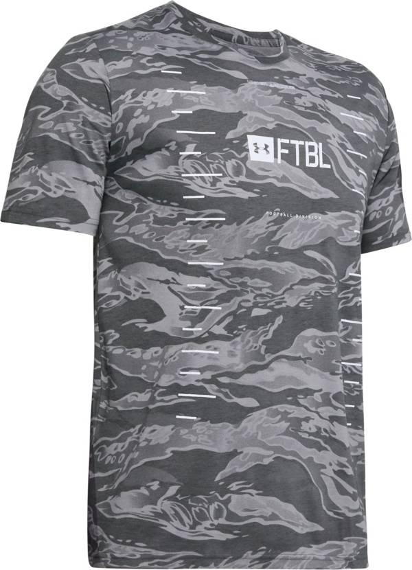 Under Armour Boys' Camo Yards Football T-Shirt product image