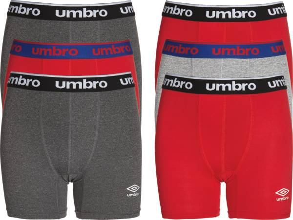 Umbro Boys' Performance Boxer Briefs – 6 Pack product image