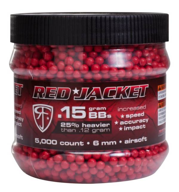 Red Jacket 6mm Airsoft BBs – 5,000 Count product image