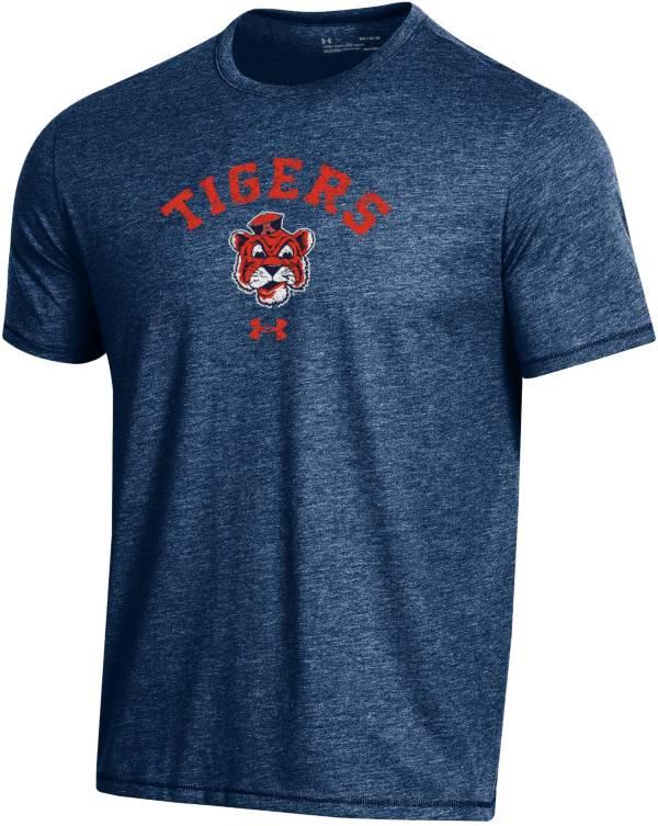 Under Armour Men's Auburn Tigers Blue Bi-Blend Performance T-Shirt product image