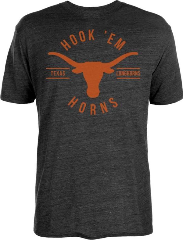 University of Texas Authentic Apparel Men's Texas Longhorns Trent Tri-Blend Black T-Shirt product image