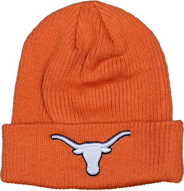 University of Texas Authentic Apparel Men's Texas Longhorns Burnt Orange Cuff Knit Beanie product image