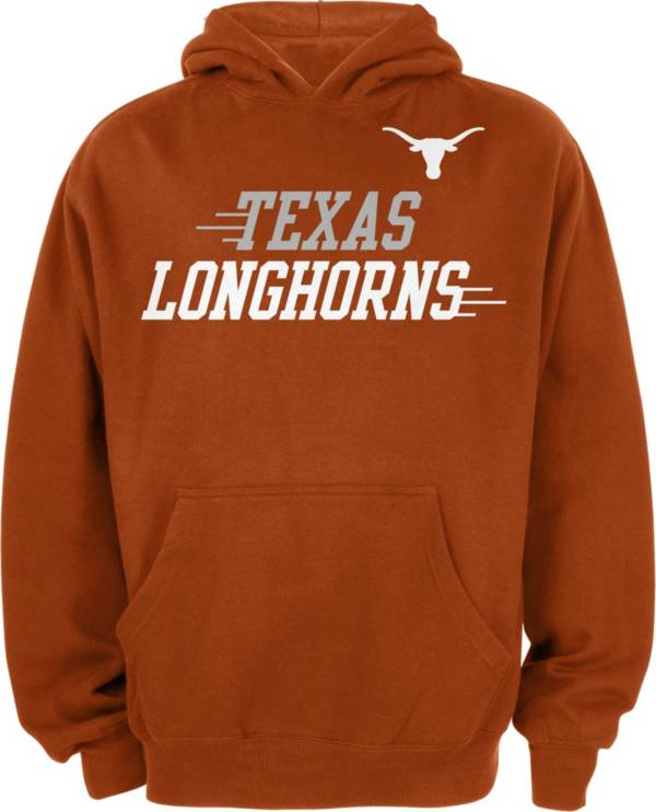 University of Texas Authentic Apparel Youth Texas Longhorns Burnt Orange Pullover Hoodie product image