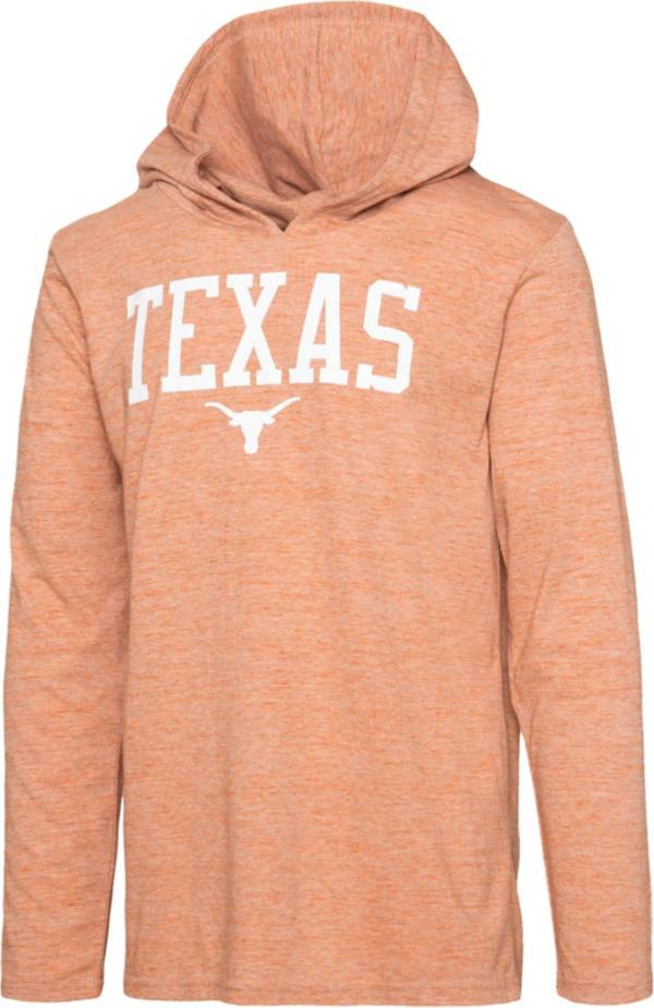 University of Texas Authentic Apparel Men's Texas Longhorns Burnt Orange Zophar Hooded Long Sleeve T-Shirt product image