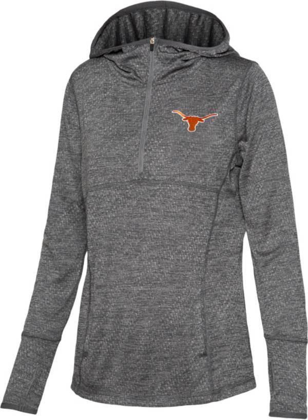 University of Texas Authentic Apparel Women's Texas Longhorns Grey Kara Half-Zip Shirt product image