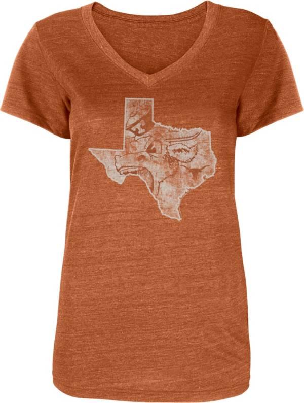 University of Texas Authentic Apparel Women's Texas Longhorns Burnt Orange Zula T-Shirt product image
