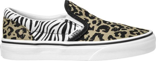 Vans Kid's Grade School Classic Slip-Animal on Print Shoes product image