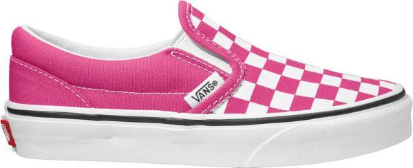 Vans Kids' Grade School Checkerboard Classic Slip-On Shoes product image
