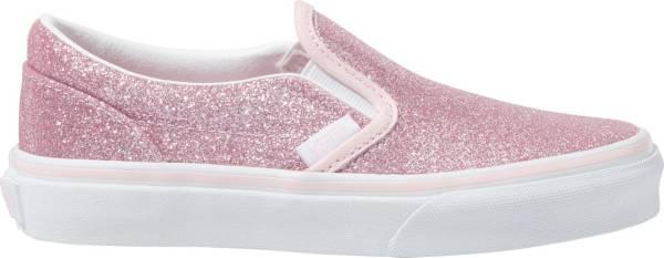 Vans Kids' Grade School Glitter Classic Slip-On Shoes product image