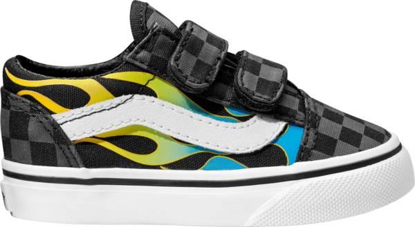 Vans Kids' Toddler Check Flame Old Skool Shoes product image