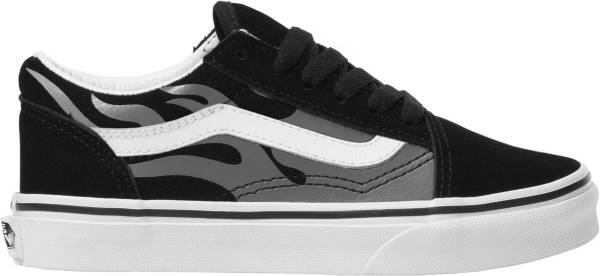 Vans Kids' Grade School ComfyCush Old Skool Flame Shoes product image