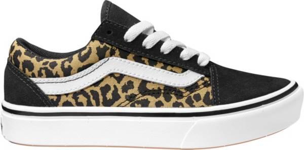 Vans Kids' Grade School ComfyCush Old Skool Cheetah Print Shoes product image
