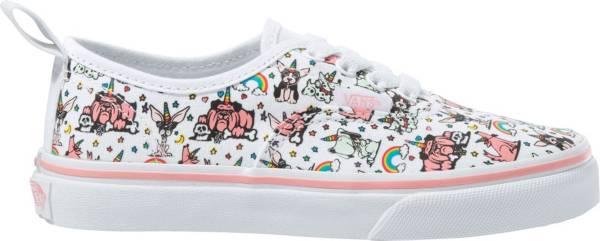 Vans Kids' Grade School Authentic Elastic Lace Puppicorns Shoes product image
