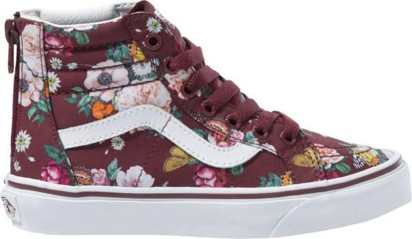 Vans Kids' Grade School Floral SK8-Hi Zip Shoes product image