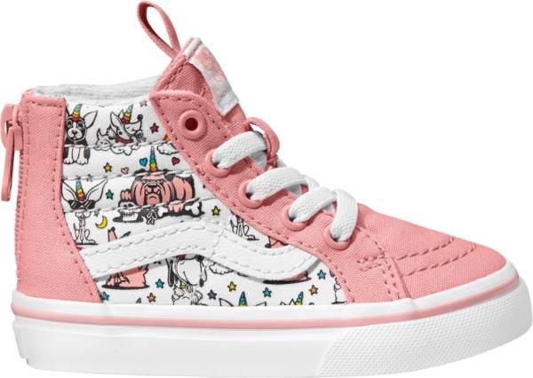 Vans Kids' Grade School Puppicorns SK8-Hi Zip Shoes product image
