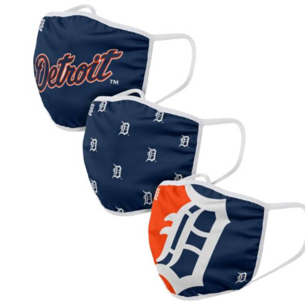 FOCO Adult Detroit Tigers 3-Pack Face Coverings product image
