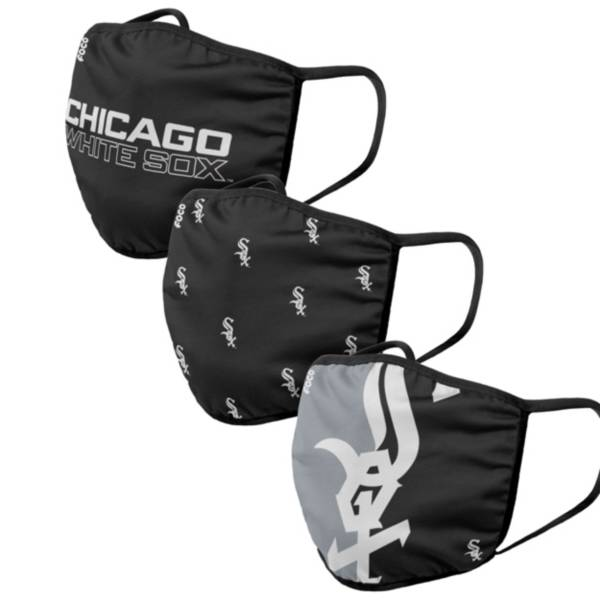 FOCO Adult Chicago White Sox 3-Pack Face Masks product image