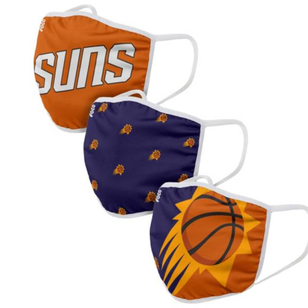 FOCO Adult Phoenix Suns 3-Pack Face Coverings product image