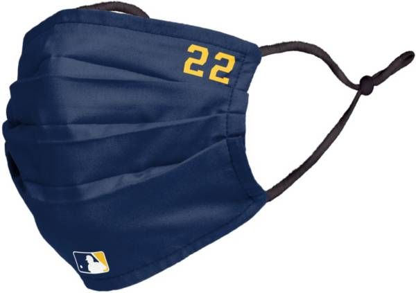 FOCO Adult Milwaukee Brewers Christian Yelich Face Covering product image