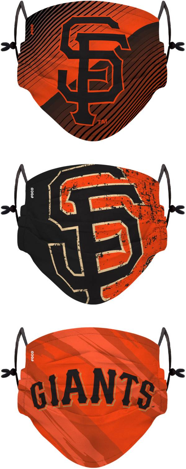 FOCO Youth San Francisco Giants 3-Pack Face Coverings product image