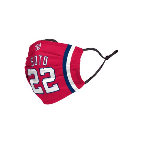 FOCO Adult Washington Nationals Juan Soto 3-Pack Face Coverings product image