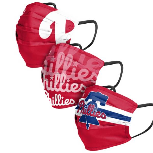 FOCO Adult Philadelphia Phillies 3-Pack Face Coverings product image