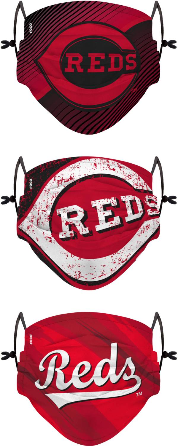 FOCO Youth Miami Marlins 3-Pack Face Coverings product image