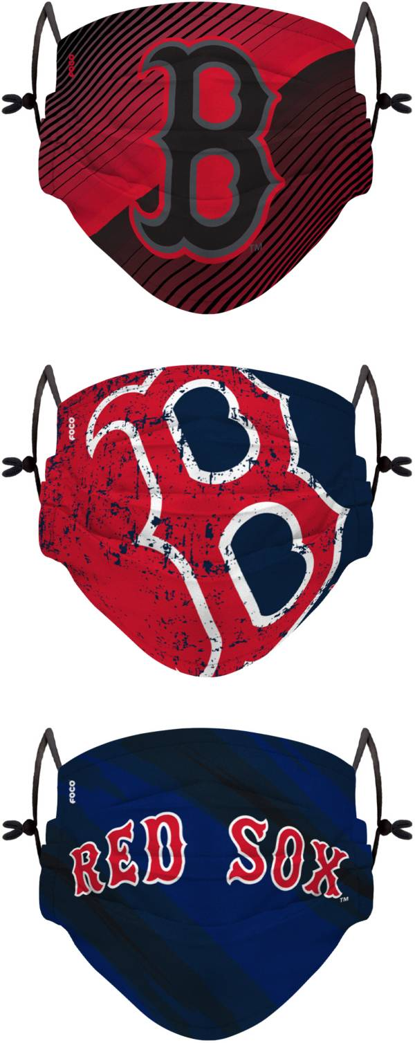 FOCO Youth Boston Red Sox 3-Pack Face Coverings product image