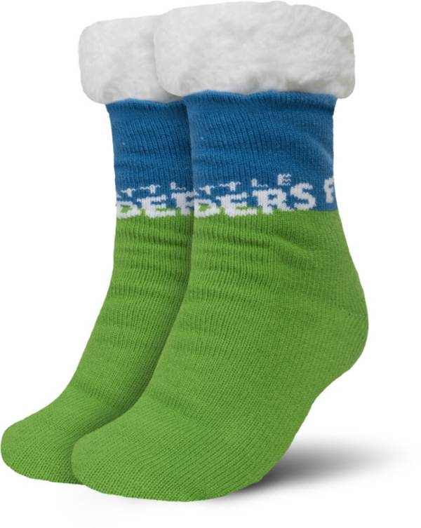 FOCO Seattle Sounders Cozy Footy Slippers product image