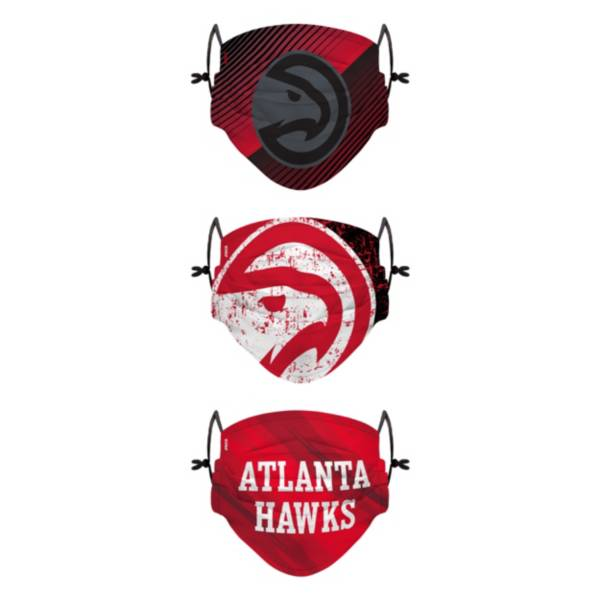 FOCO Youth Atlanta Hawks 3-Pack Face Coverings product image