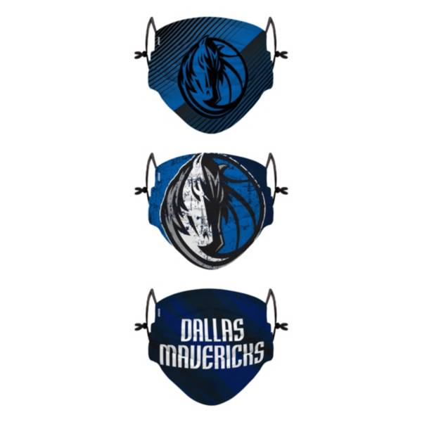 FOCO Youth Dallas Mavericks 3-Pack Face Coverings product image