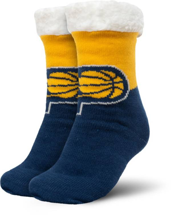FOCO Indiana Pacers Cozy Footy Slippers product image