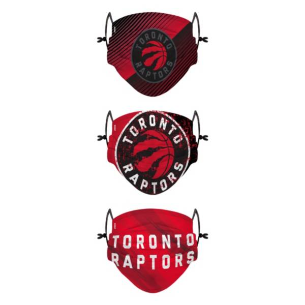 FOCO Youth Toronto Raptors 3-Pack Face Coverings product image