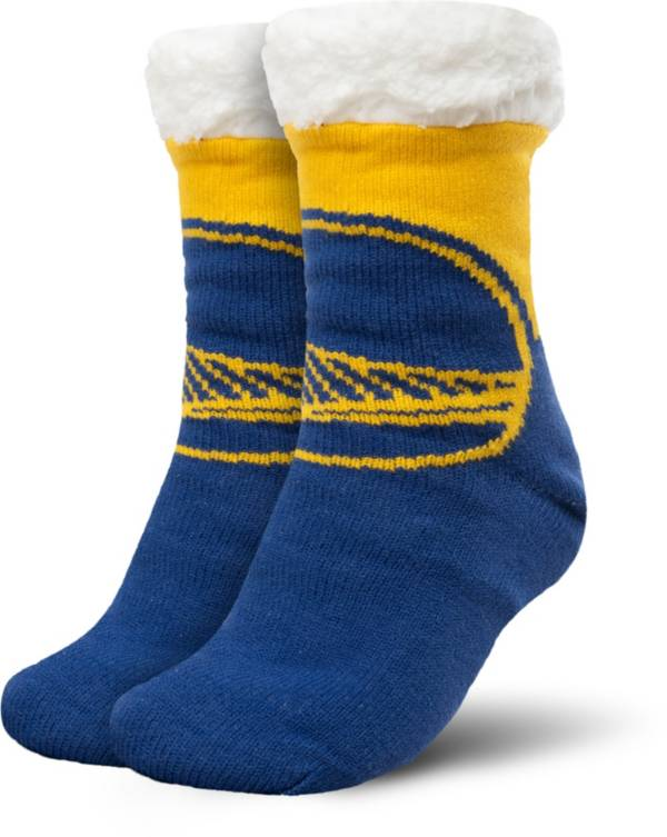 FOCO Golden State Warriors Cozy Footy Slippers product image