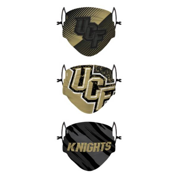 FOCO Adult UCF Knights 3-Pack Face Coverings product image