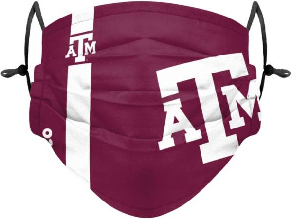 FOCO Adult Texas A&M Aggies On-Field Sideline Adjustable Face Covering product image