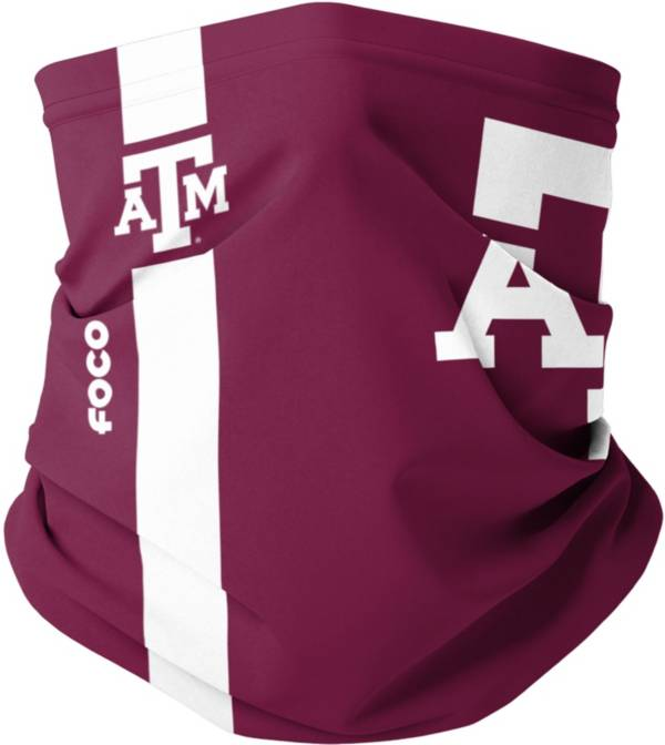 FOCO Adult Texas A&M Aggies On-Field Logo Neck Gaiter product image