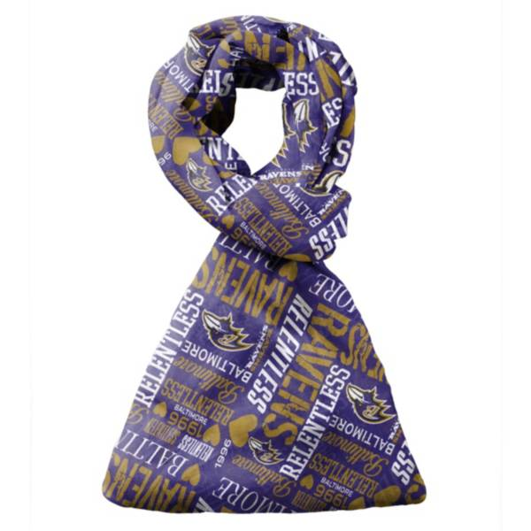FOCO Baltimore Ravens Scarf product image