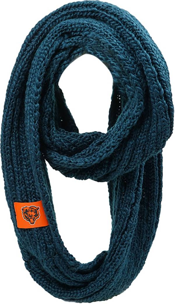FOCO Chicago Bears Cable Knit Infinity Scarf product image