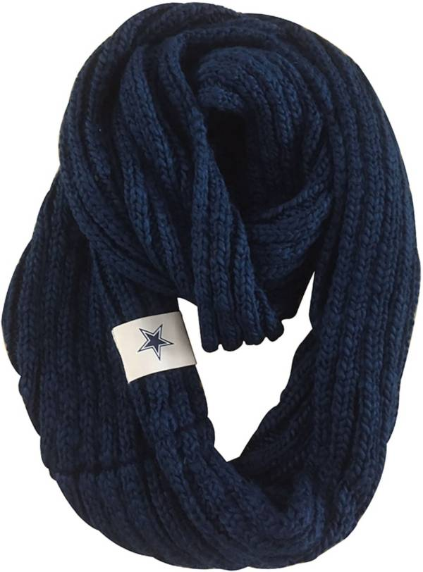 FOCO Dallas Cowboys Cable Knit Infinity Scarf product image