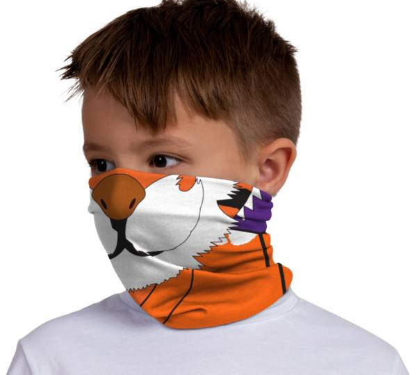 FOCO Youth Clemson Tigers Mascot Neck Gaiter product image