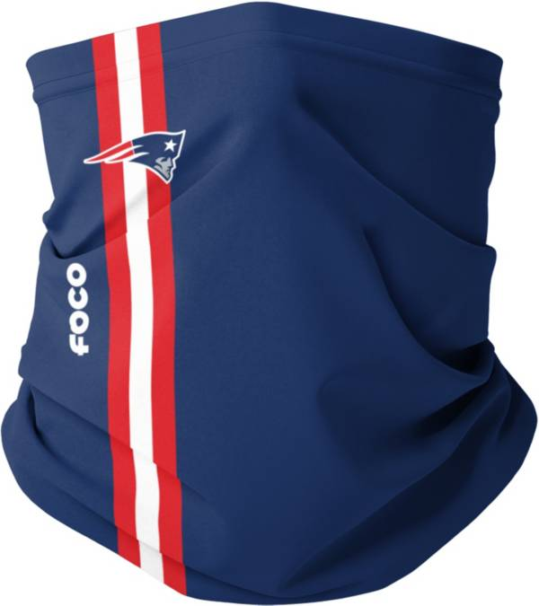 FOCO Youth New England Patriots On-Field Stripe Neck Gaiter product image