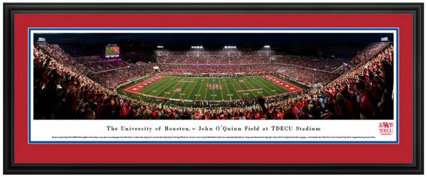 Blakeway Panoramas Houston Cougars Double Mat Deluxe Frame product image