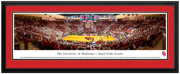 Blakeway Panoramas Oklahoma Sooners Double Mat Deluxe Frame product image
