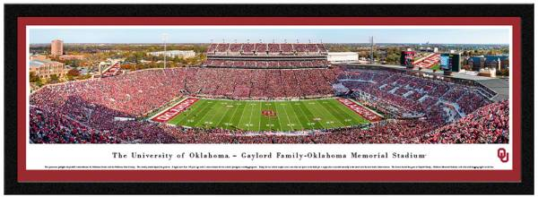 Blakeway Panoramas Oklahoma Sooners Single Mat Select Frame product image