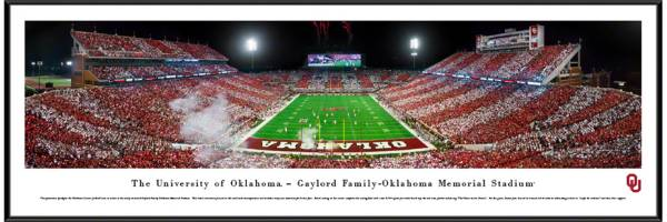 Blakeway Panoramas Oklahoma Sooners Standard Frame product image