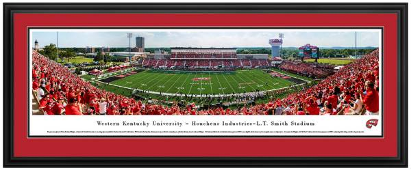 Blakeway Panoramas Western Kentucky Hilltoppers Double Mat Deluxe Frame product image